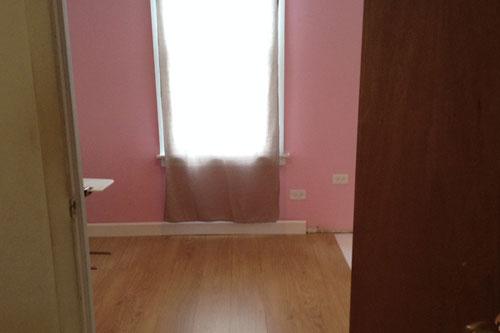 Bedroom floor update